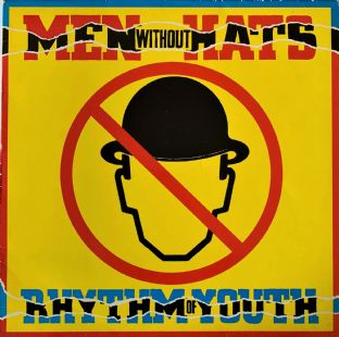 Men Without Hats - Rhythm Of Youth (LP) (VG-/VG-)